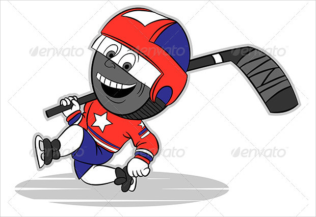 sample character hockey player
