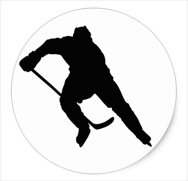 Single Player Silhouette Icon
