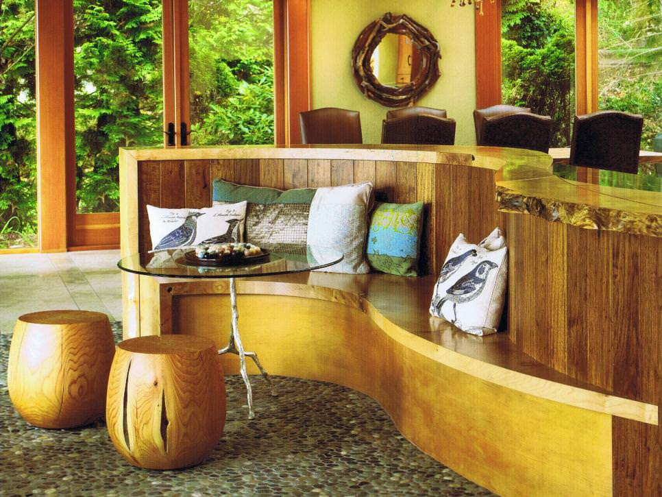 Awesome Rustic Wood Bench outdoor