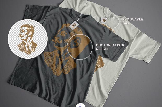 Chromatees Mockup T-Shirts