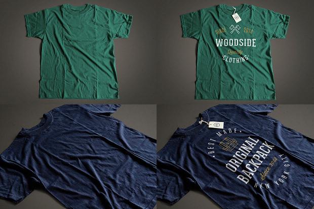 15+ T-Shirt Psd Mockups