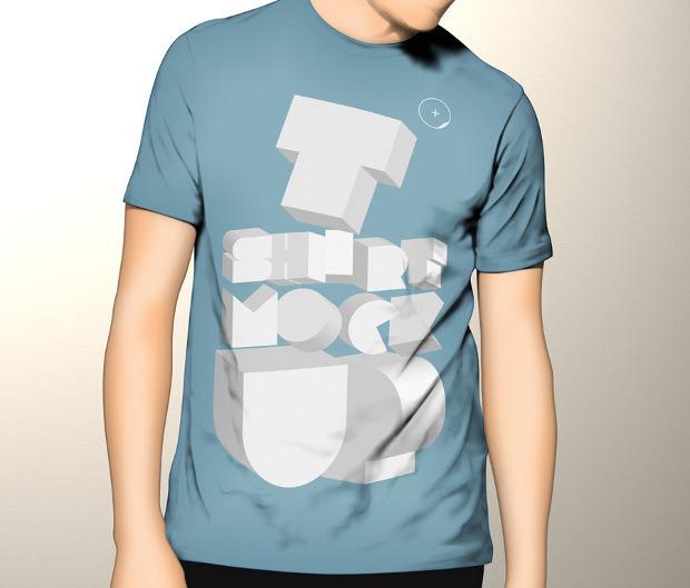 Free Tshirt Mockup Template