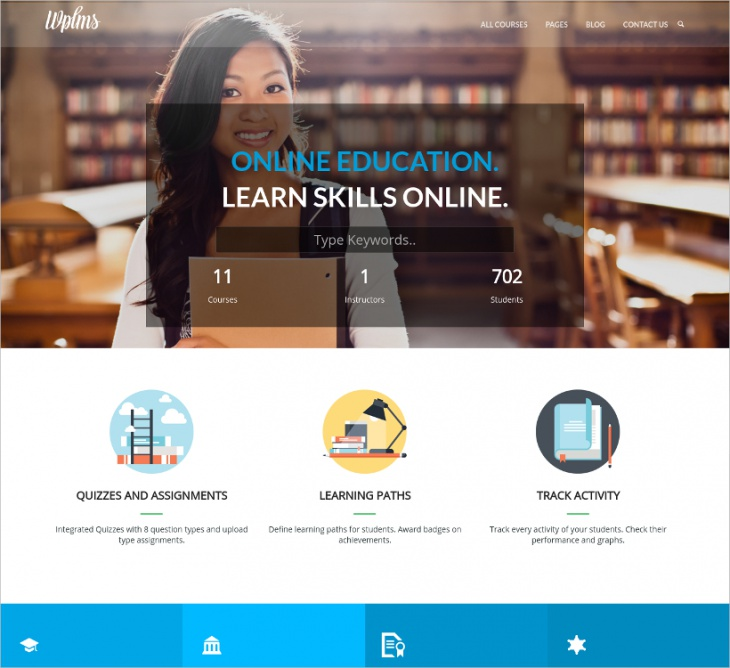 Bootstrap Eduction WordPress Theme