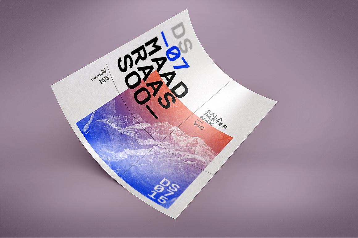 A4 Paper Flyer Mockups