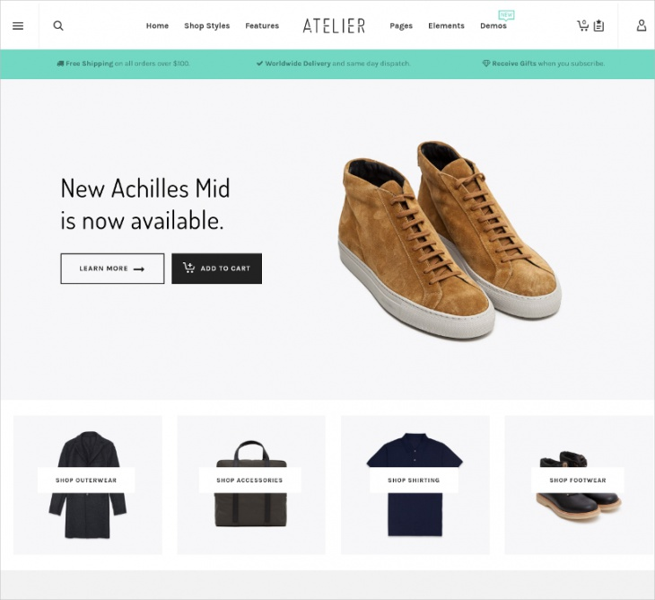 Multipurpose eCommerce WP Themes