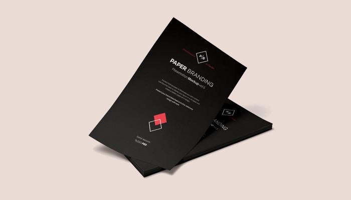 A4 Paper Branding Mockup1