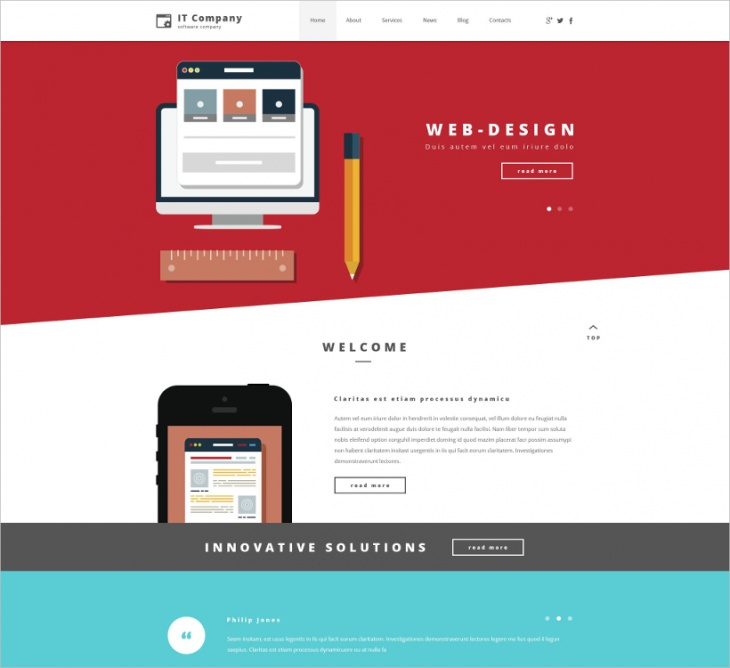 Company WordPress Themes