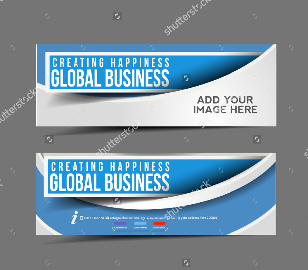 Modern Business Design Banner Templat