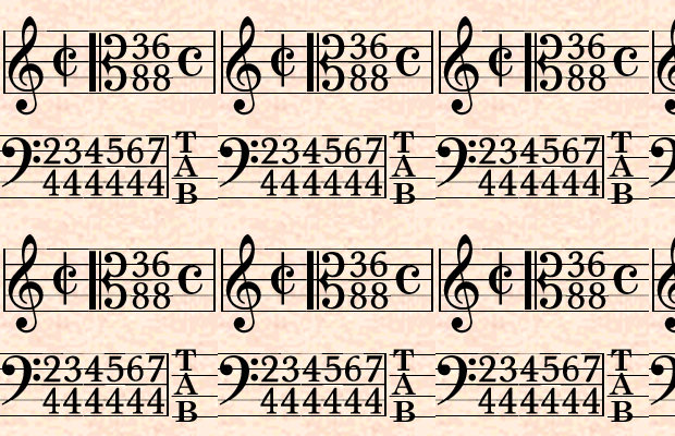 Beautiful Music Font Sheets