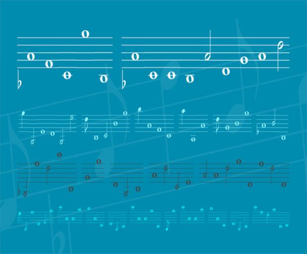 Lassus Blue Music Font