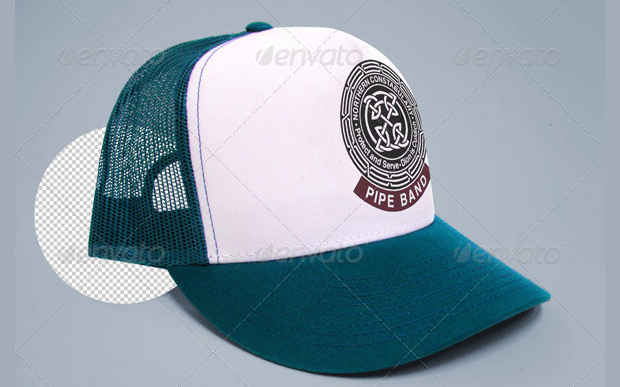 baseball trucker cap mock up along with t shirt