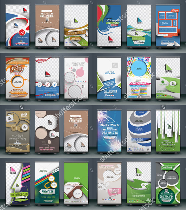 Collection of Business Banners Templates Download