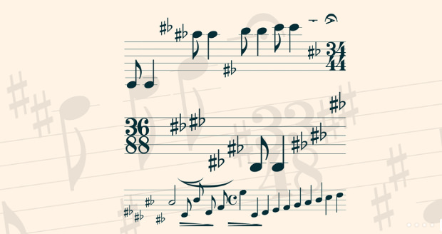 Mymusic Fonts Types