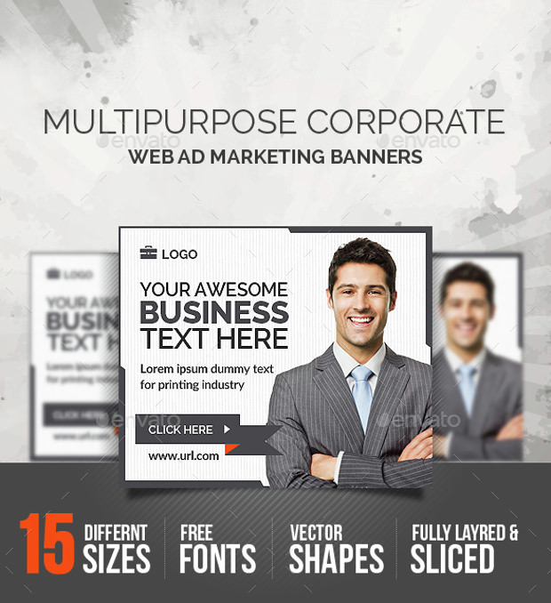 Corporate Business Banner Templates Download