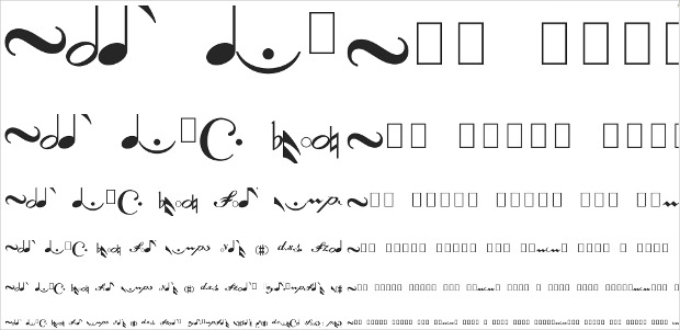 Leipzig Styles of Music Fonts