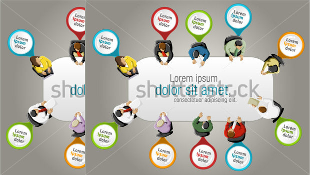 Business People working Banner Templates