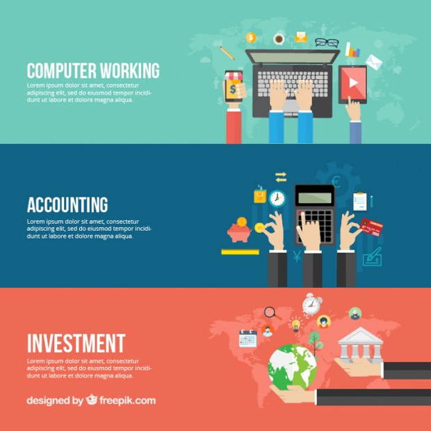 25  vector business banner templates  ai  eps  svg