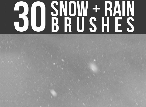 25+ Snow Rain Brushes