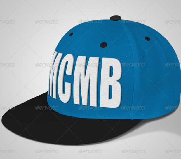 professional baseball cap mock up