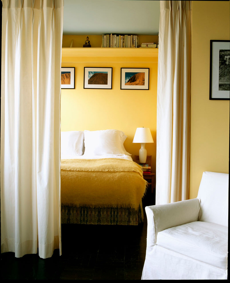 20+ Yellow Bedroom Designs, Decorating Ideas