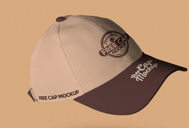 classic collection of baseball cap mockups