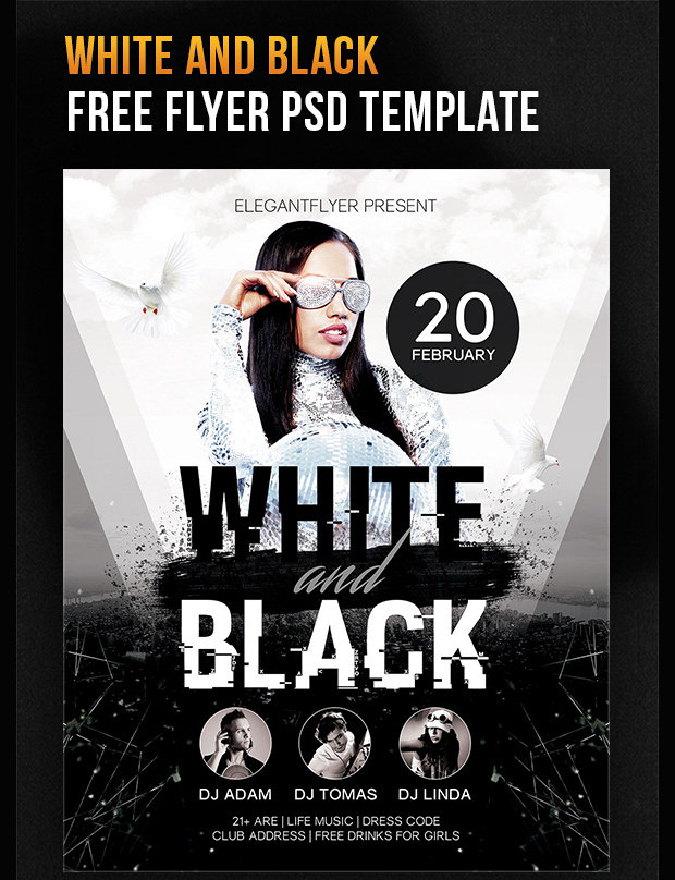 free 20thfebruary flyer template