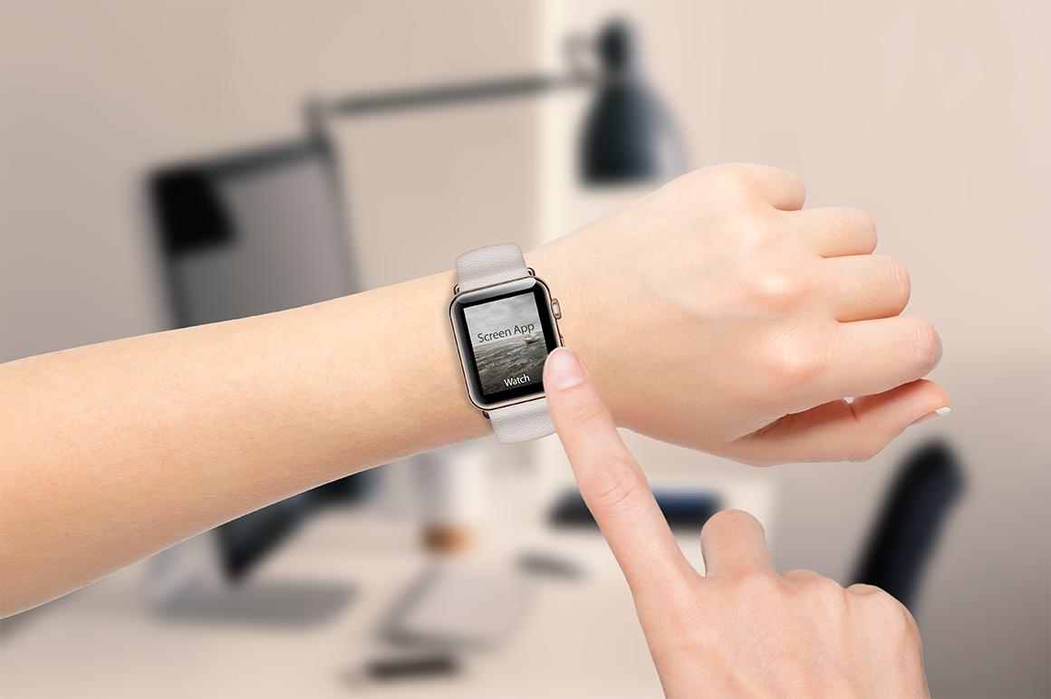 Realistic Apple Watch Mockup