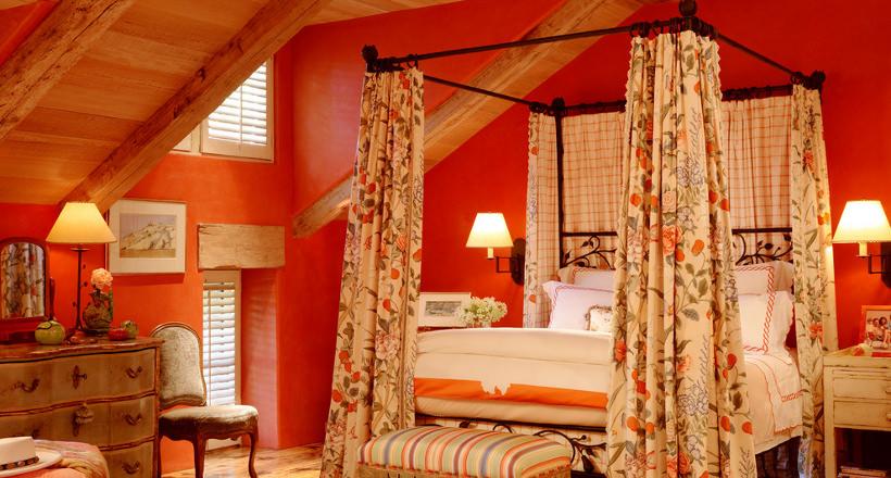 Orange Bedroom Designs & 24+ Orange Bedroom Designs Decorating Ideas   Design Trends ...