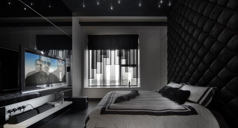 . 25  Black Bedroom Designs  Decorating Ideas   Design Trends