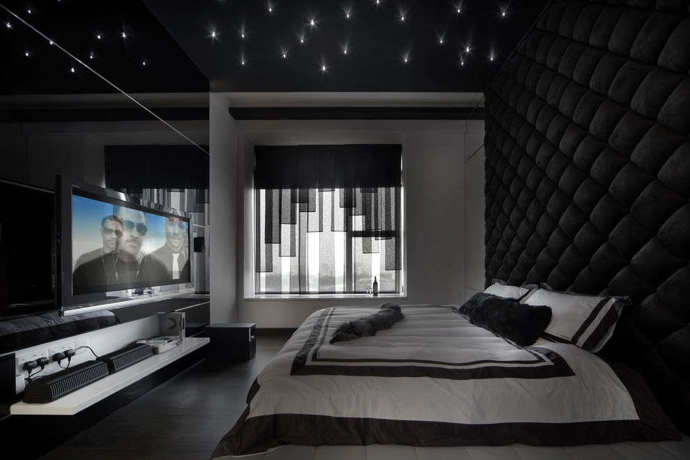lovely black white modern bedroom | 25+ Black Bedroom Designs, Decorating Ideas | Design ...