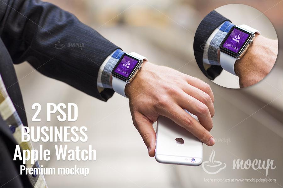 Business Apple Watch Mockup