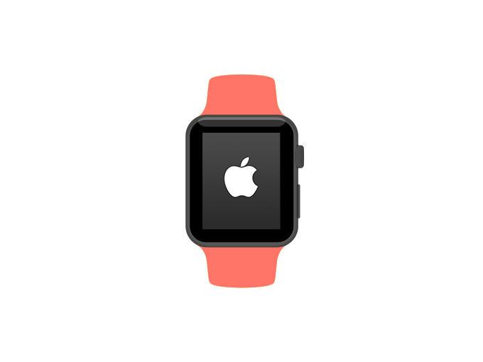 Apple Watch Flat Mockup