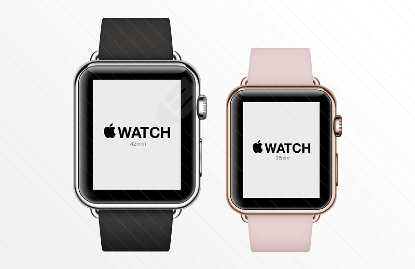 Apple Watch PSD Mockup1