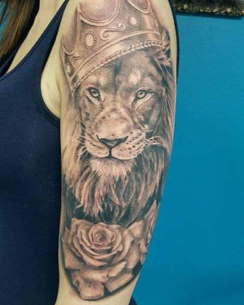 Gorgeous Leo Tattoo Design