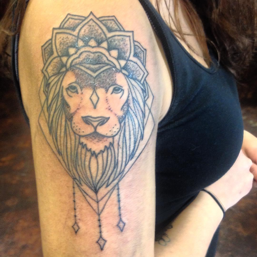 Dot Work Tattoo Design