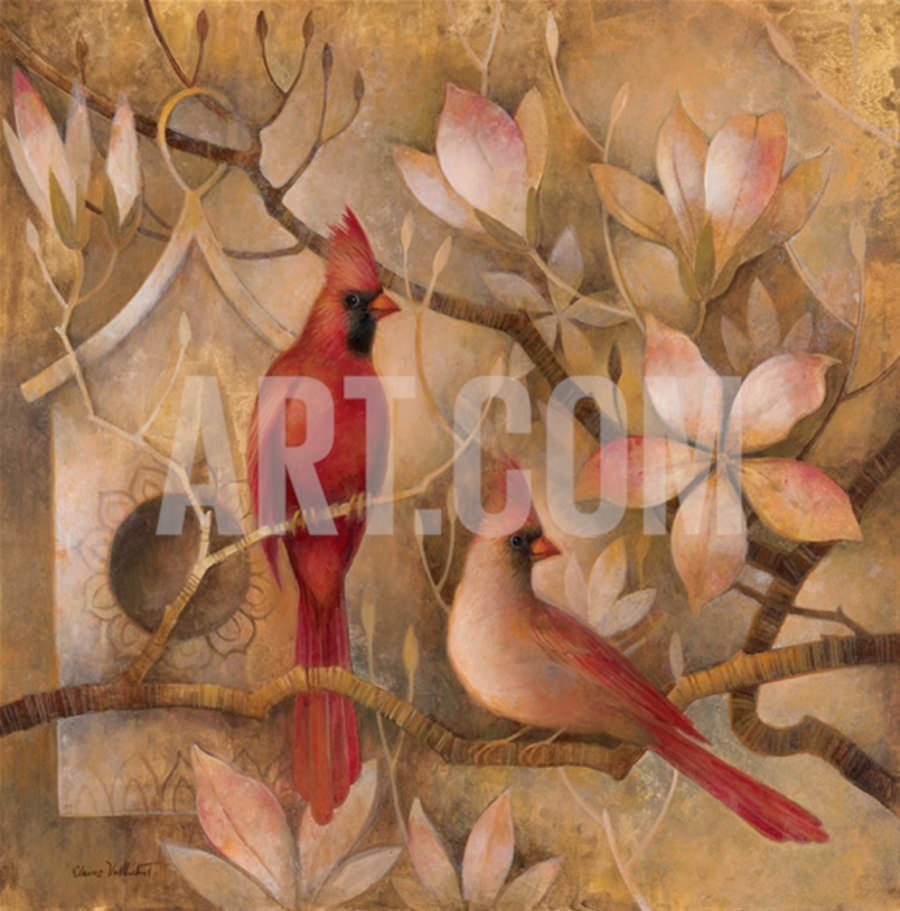 elegance red awesome painting