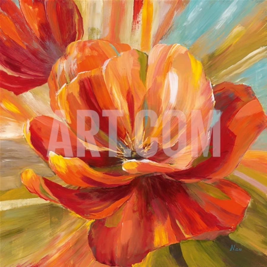 Island Blossom Painting