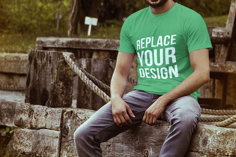 T-shirt Mockup Templates