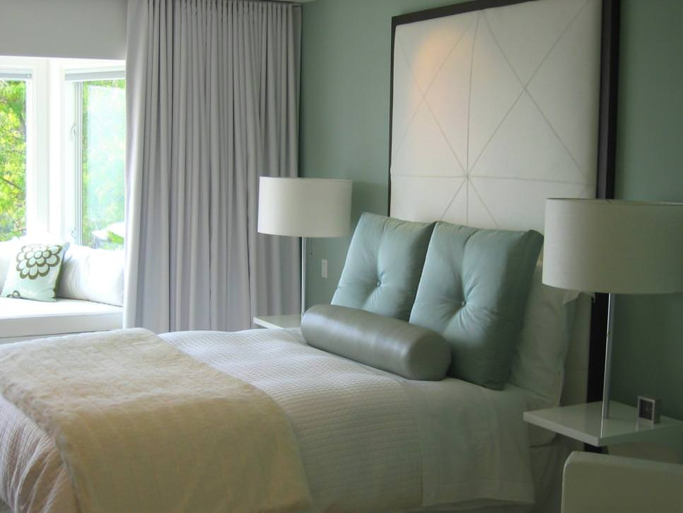Light Blue Modern Bedroom design