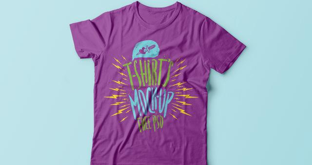 PSD T-shirt Mockup