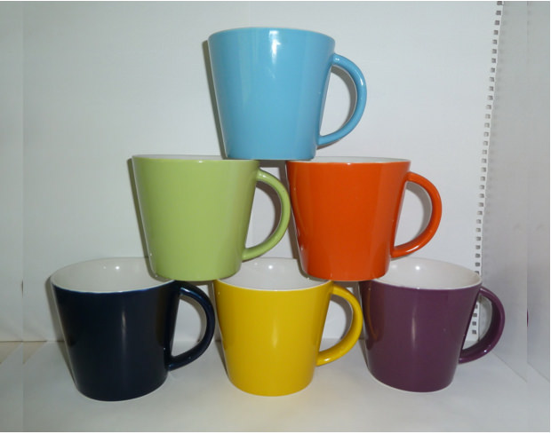 Mug Mock Ups with Ceramic Colors
