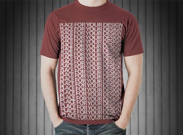 elegant t shirt mockup