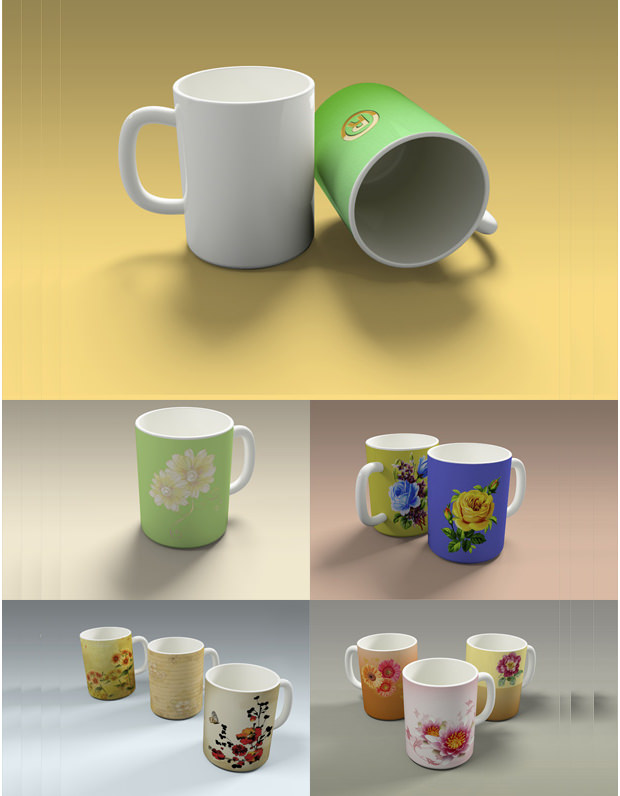 Nerolac Paints for Mug Mock ups