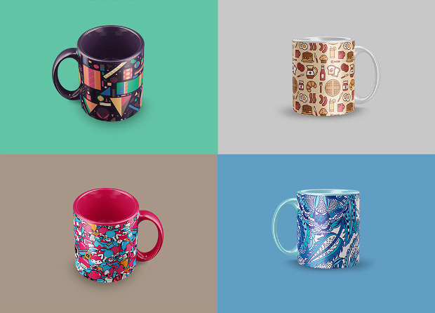Branding Designs of Mug Muck Ups