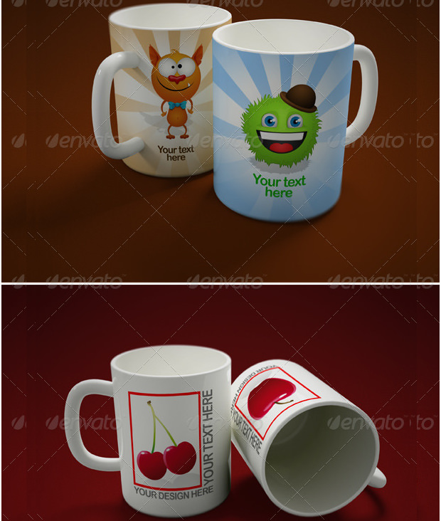 Awesome Mug Mock Up Sets