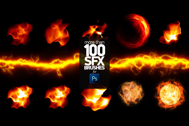 90+ Super Fire Brush Psd Download