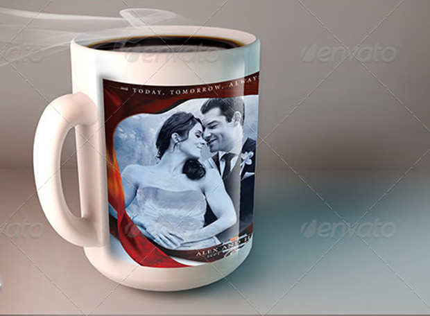 Mug Mock Up for Romantic Placess