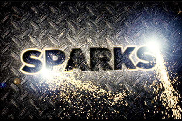 Spark Fire Brushes psd Download
