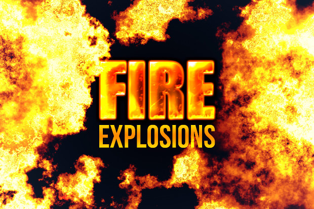 Explosive Fire brushes Collections Download