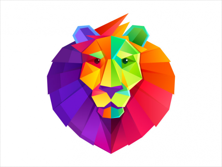 Lion Head Logo Design